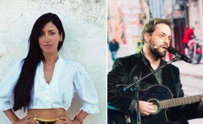 Ana Moura e António Zambujo Negócio fecha portas devido à pandemia de covid-19
