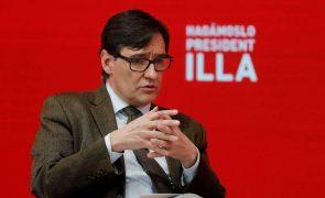 António Costa apoia socialista Salvador Illa nas eleições da Catalunha