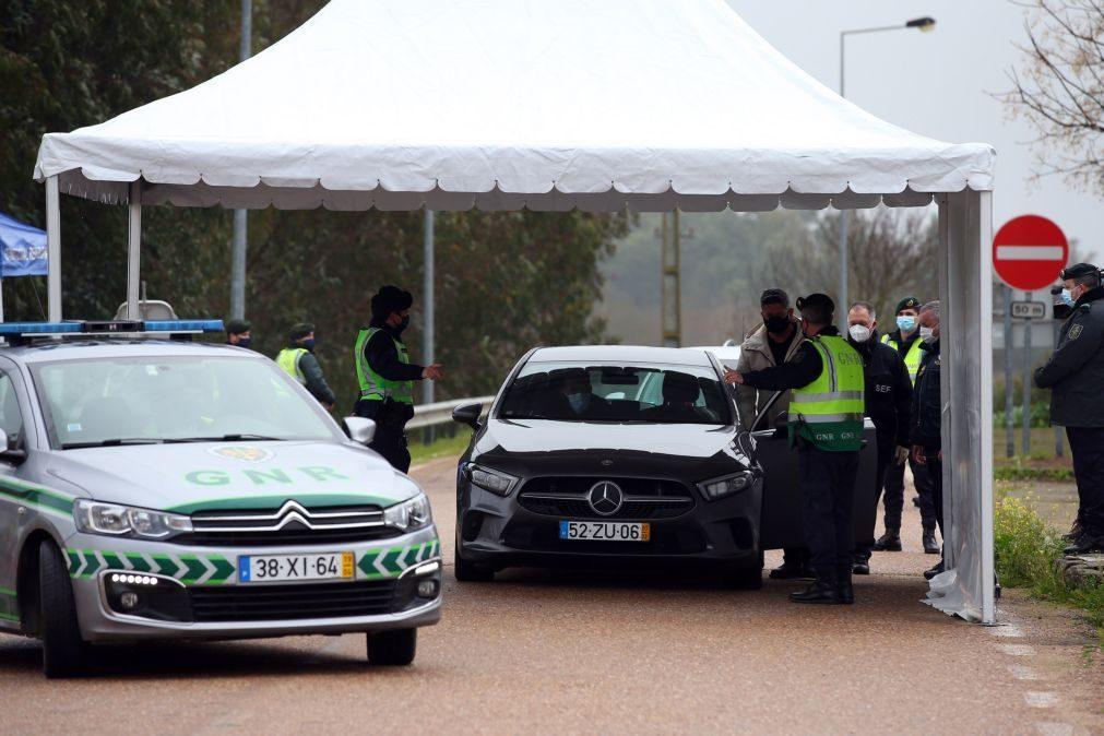 Fronteiras com Espanha mantêm-se fechadas até 1 de março
