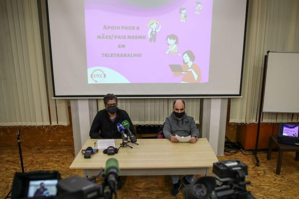 Covid-19: Sindicato exige apoio à família para trabalhadores de call-center
