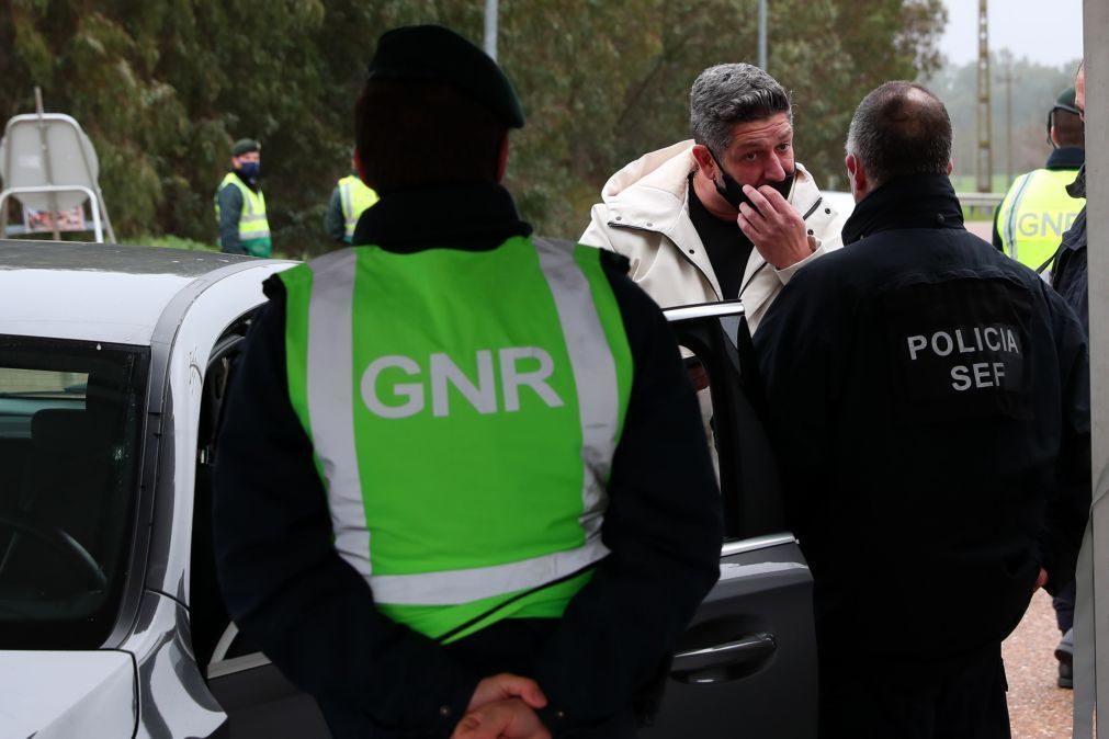 Cerca de 900 cidadãos impedidos de circular nas fronteiras entre Portugal e Espanha