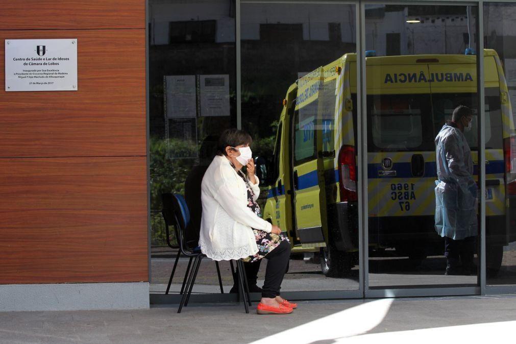 Covid-19: Madeira regista 111 novos casos e dois óbitos