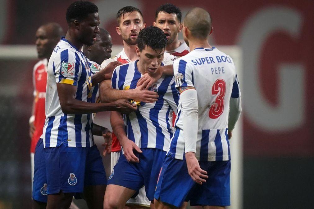 FC Porto: Luis Díaz e Uribe suspensos por um jogo