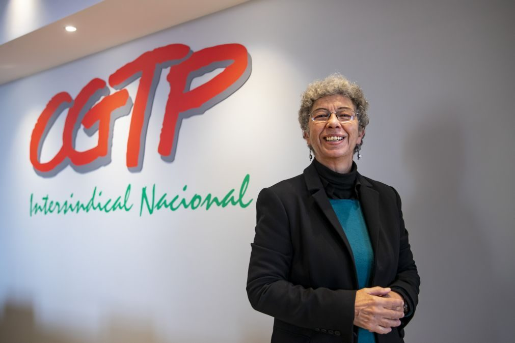 Liderança feminina da CGTP reflete realidade sindical, diz Isabel Camarinha