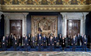 Draghi toma posse como primeiro-ministro de Itália