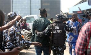 Pelo menos 20 presos em manifestação pacífica na Nigéria