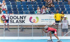 Patinador no gelo Diogo Marreiros bate recorde nacional nos cinco mil metros