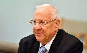 Presidente israelita diz que palestinianos usam TPI como arma política