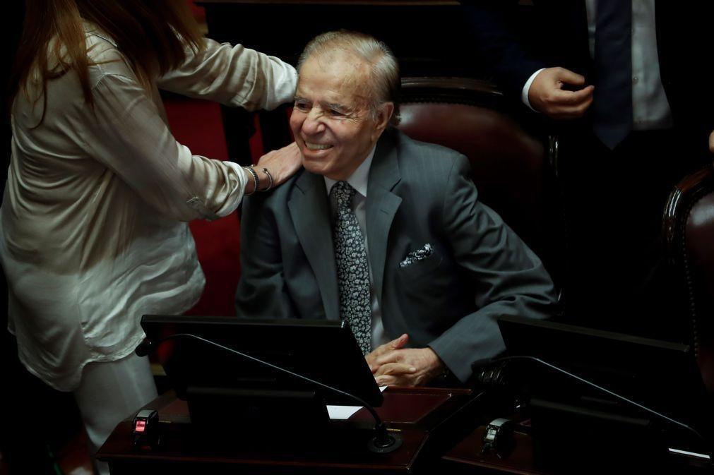 Morreu o antigo presidente da Argentina Carlos Menem