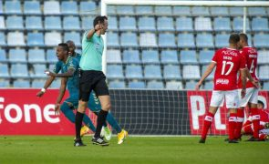 Sporting de Braga vence Santa Clara e aproxima-se do segundo lugar