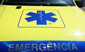 Criança ferida gravemente em Bragança após queda de cinco metros