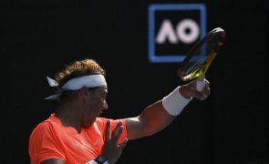 Open da Austrália: Nadal vence Fognini e segue para os quartos de final