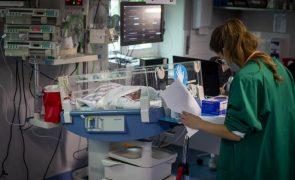 Covid-19: Hospitais do Centro com taxas de ocupação abaixo dos 80%