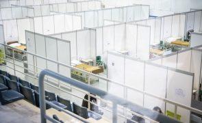 Covid-19: Hospital de campanha de Lisboa já recebeu 118 doentes
