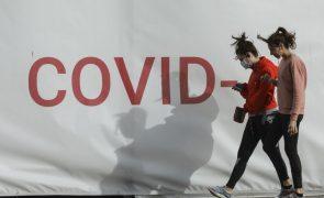 Covid-19: Portugal com menos 100 concelhos em risco extremo de infeção
