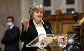 UE/Presidência: Comissária Elisa Ferreira garante que não há atrasos na 'bazuca'