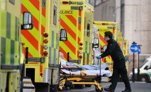 Covid-19: Reino Unido abaixo dos 10 mil casos pela primeira vez desde outubro