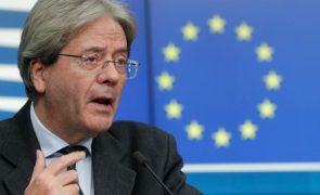 UE/Presidência: Gentiloni confiante no início do desembolso de fundos antes do verão