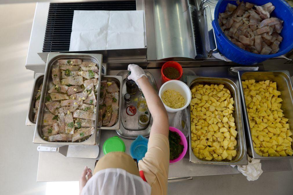 Covid-19: Escolas de acolhimento serviram 37 mil refeições diárias