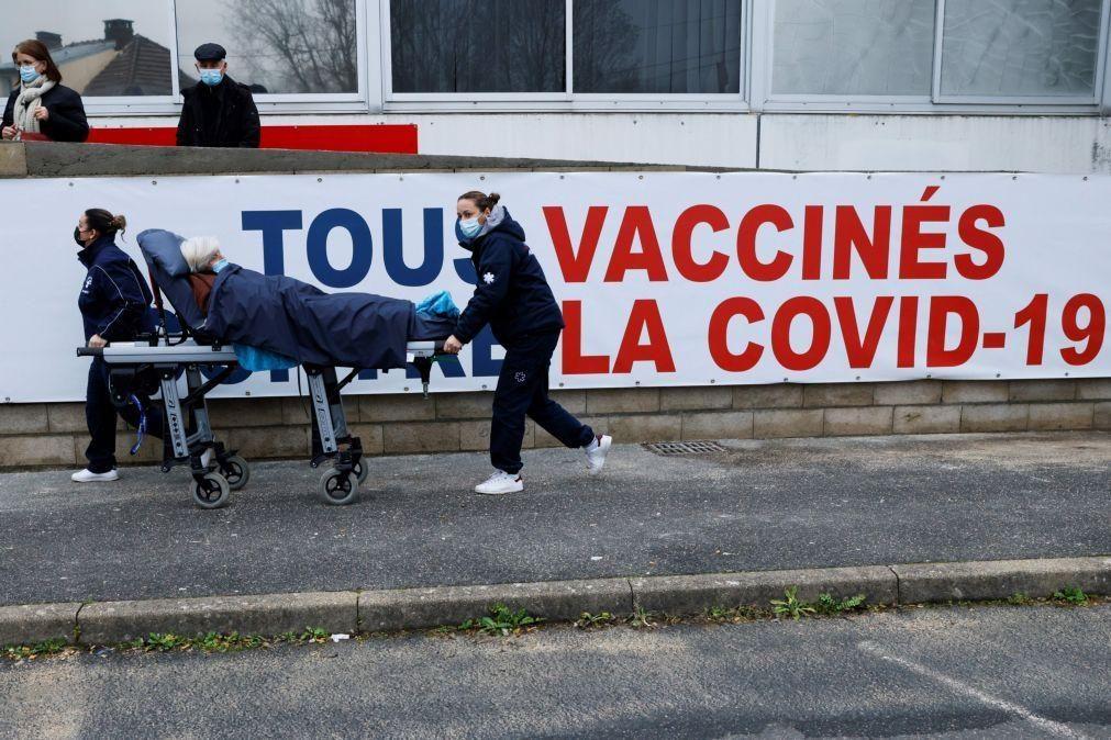 Covid-19: França regista mais 413 mortos devido ao vírus