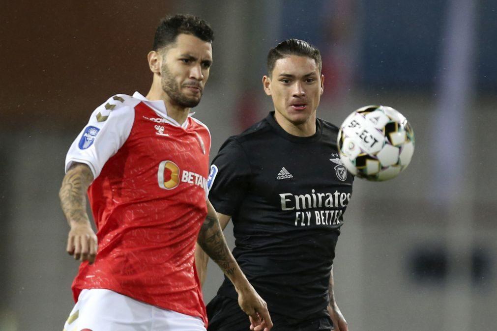 Benfica e Braga procuram oitavos da Liga Europa com adversários Champions
