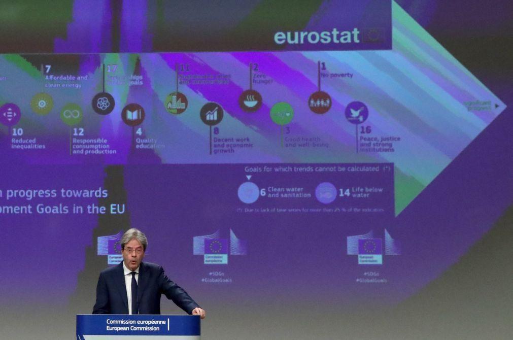 PIB da zona euro cai 6,8% e o da UE 6,4% em 2020 - Eurostat