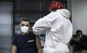 Covid-19: Bombeiros começaram hoje a ser vacinados no litoral alentejano