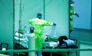 Covid-19: Hospital de campanha de Portimão desativado transfere seis doentes