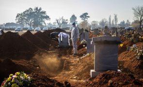 Covid-19: Pandemia provocou pelo menos 2.408.243 mortes e 109.074.730 casos