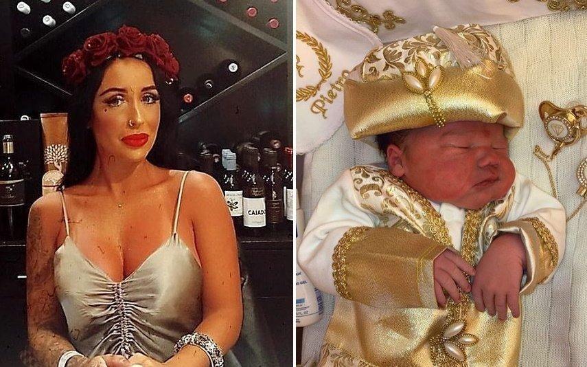 Juliana Dias Foi mãe pela segunda vez. Roupas do bebé enlouquecem Internet