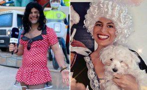 Carnaval As máscaras mais cómicas e excêntricas dos famosos e dos filhos