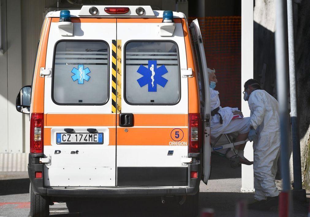 Covid-19: Itália regista mais 336 mortes e 10.386 novos casos