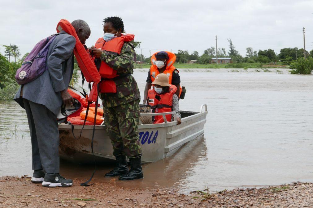 Mau tempo afeta 11.411 pessoas desde o fim de semana em Moçambique