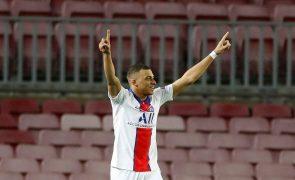 LC: Mbappé coloca PSG na 'rota' dos 'quartos', Liverpool vence Leipzig