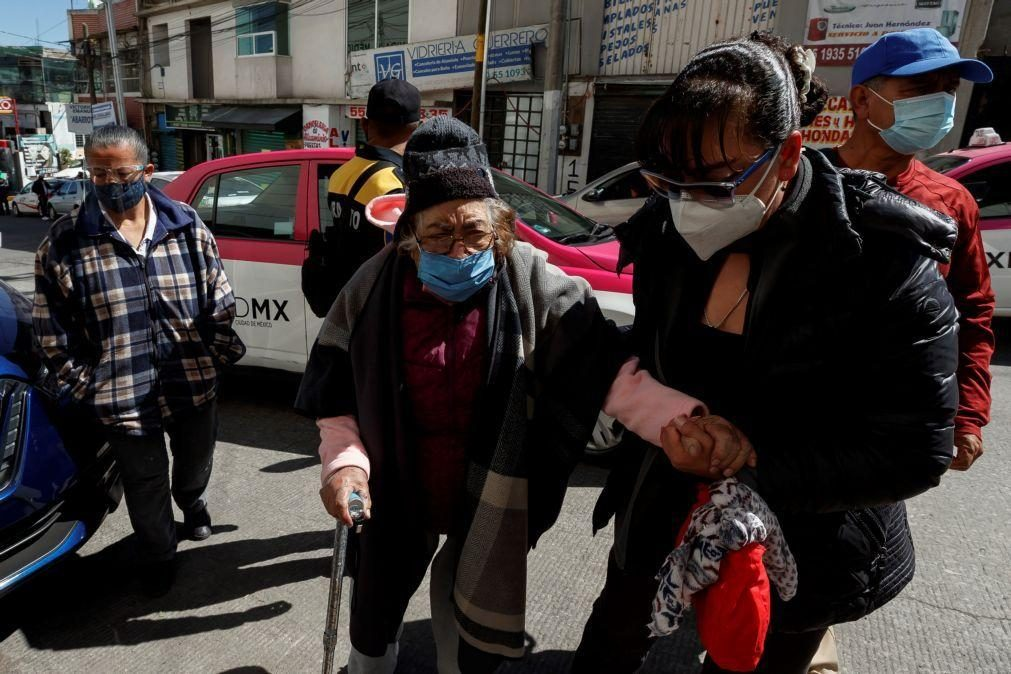 Covid-19: México regista 1.329  mortos em 24 horas
