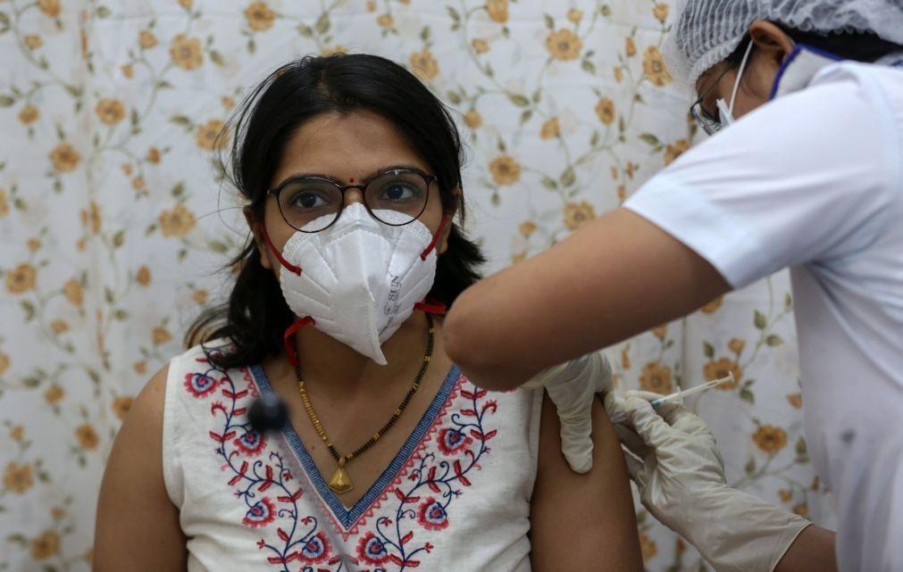 Covid-19: Índia com 100 mortes e 11.610 novos casos