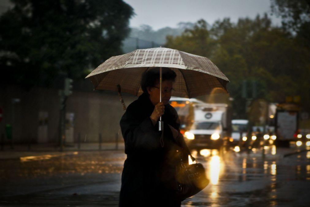 Viana do Castelo e Braga sob aviso amarelo devido à previsão de chuva