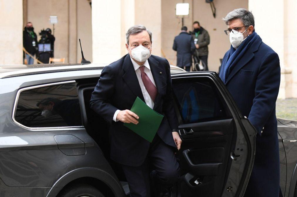 Draghi apela à reconstrução de Itália no seio de uma Europa