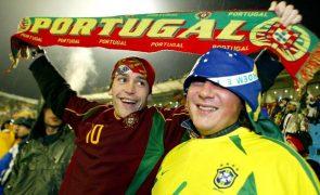 Seleções de Portugal e Brasil podem defrontar-se em 2022 -- embaixador em Brasília
