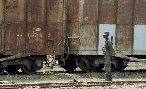 Polícia angolana deteve seis pessoas implicadas no furto de carris de comboio em Benguela