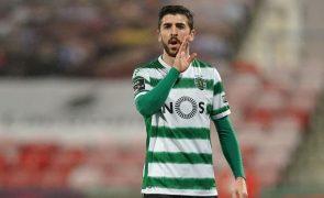 Sporting comunica comissões na transferência de Paulinho