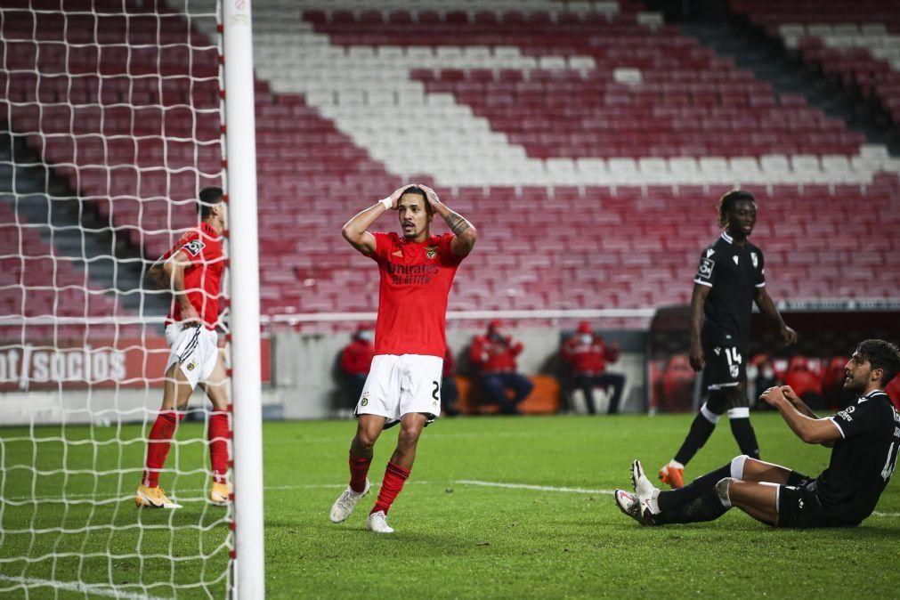 Gilberto regressa aos convocados do Benfica, Gonçalo Ramos sai lesionado