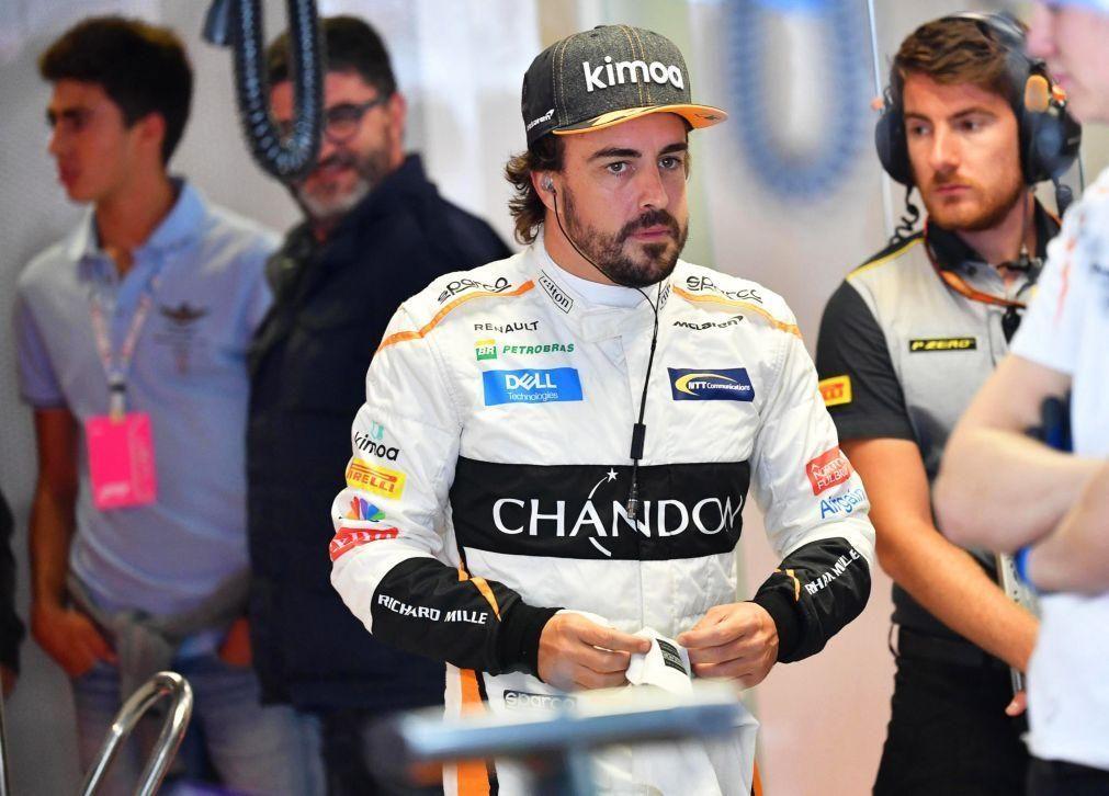 Bicampeão mundial Fernando Alonso quer 'top-10' no regresso à Fórmula 1