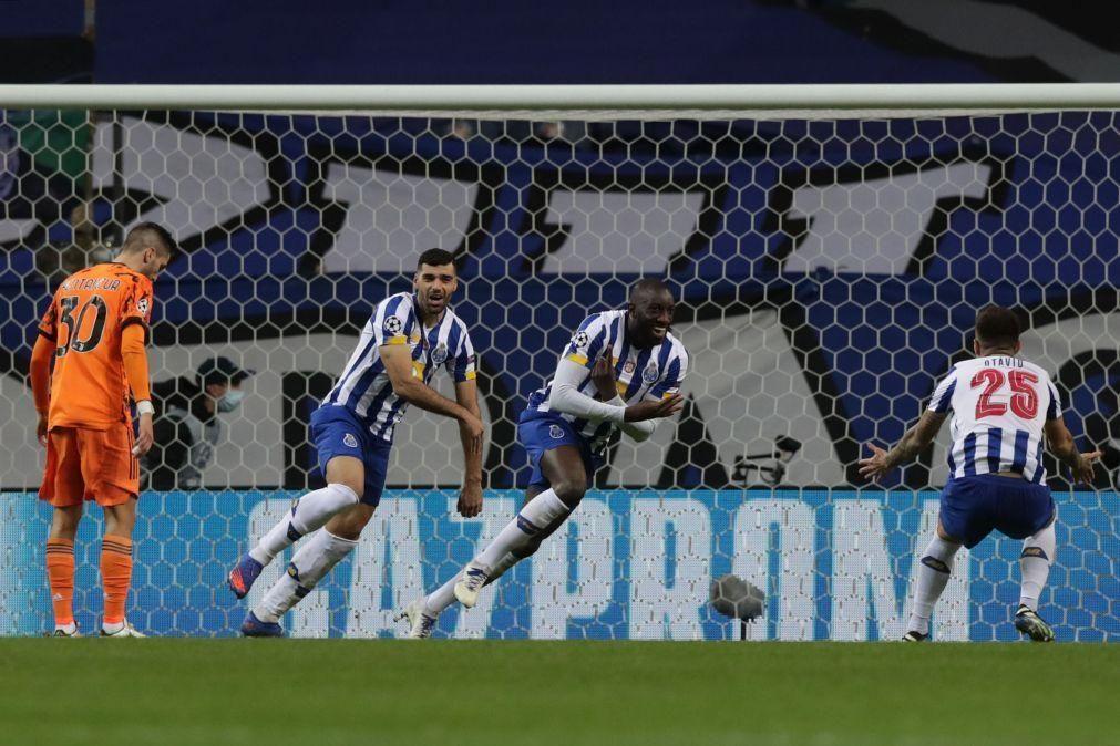 FC Porto vence Juventus na 1.ª mão dos oitavos de final da Champions