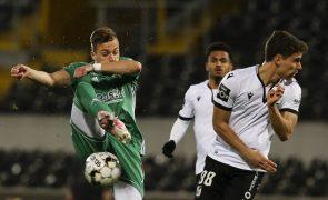 Vitória de Guimarães e Farense empatam em jogo em atraso da 14.ª jornada da I Liga