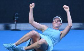 Open da Austrália: Jennifer Brady vence Muchova e vai disputar final contra Osaka