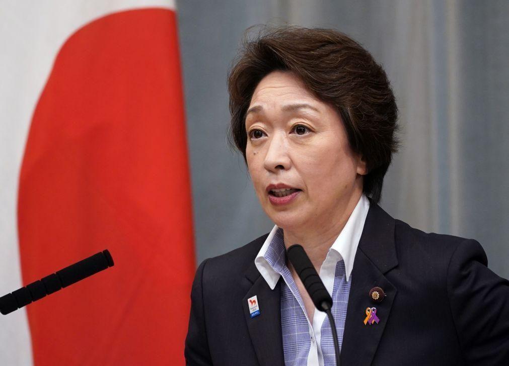 Ministra dos Jogos Olímpicos assume presidência após polémica sexista