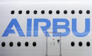 Airbus reduz prejuízo em 2020 para 1.133 milhões de euros