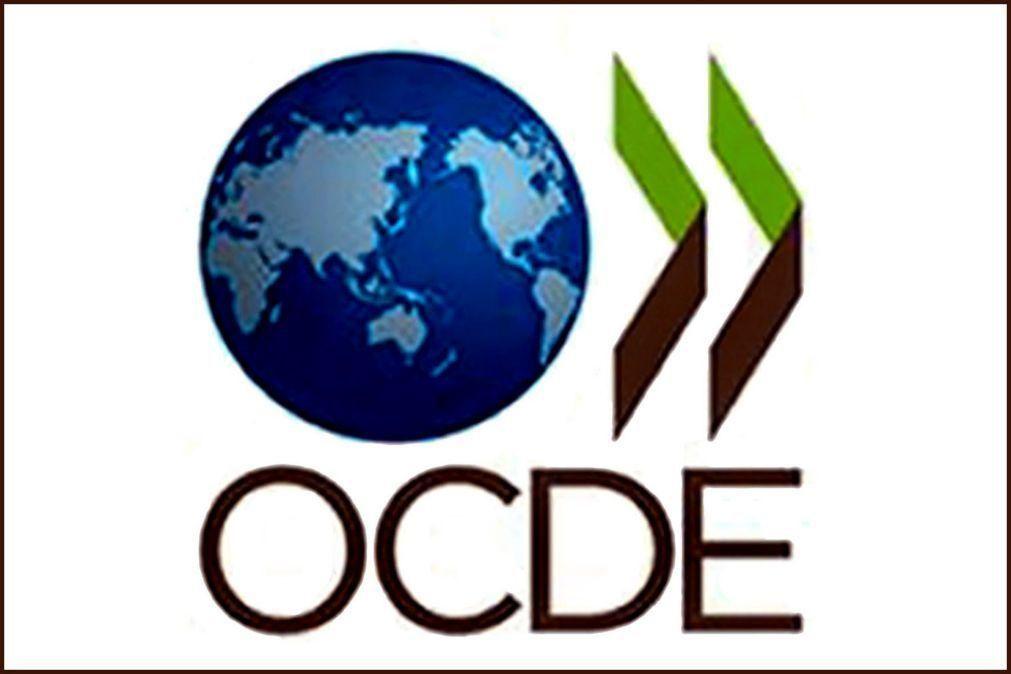 PIB da OCDE recua 4,9% em 2020, maior contração desde 1962