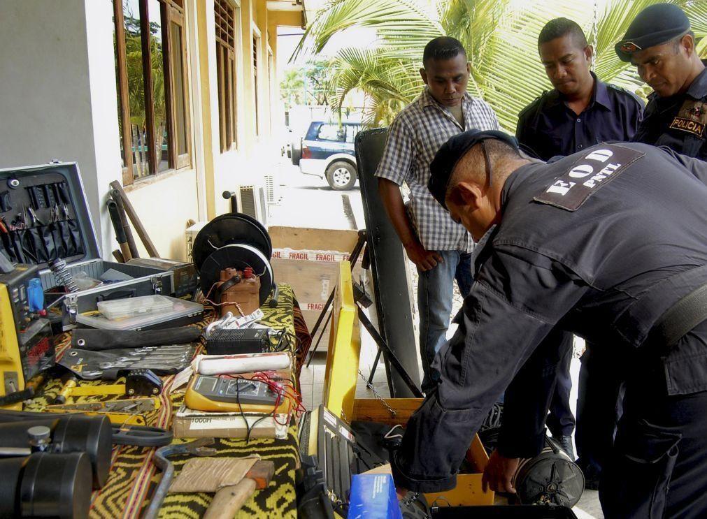 Polícia científica de Timor-Leste reforçada com material laboratorial contra o crime